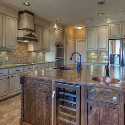 The Frog Pad Kitchen & Bath Designer Showroom - Rustic Transitional Kitchen
