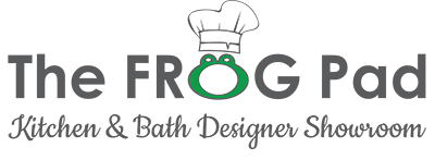 The Frog Pad Kitchen & Bath Designer Showroom Logo